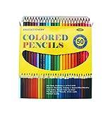 SKKSTATIONERY 50Pcs Colored Pencils,50 Vibrant Colors, Drawing Pencils for Sketch, Arts, Coloring Books