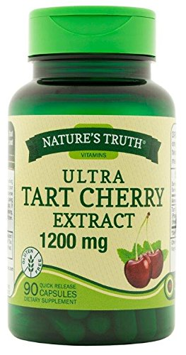 Nature's Truth Ultra Tart Cherry Extract 1200 mg, 90 Count - Tart Cherry Gout
