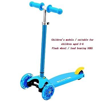 YUMEIGE Patinetes Coches de pedales 4 Scooters para niños de ...