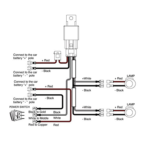 rls 12v relay wiring diagram 125 led light 12v relay wiring diagram #11