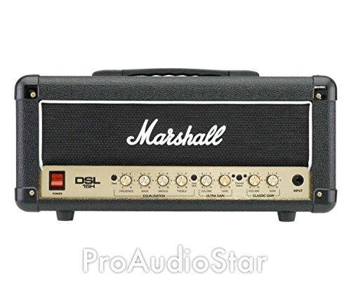 Marshall DSL Series DSL15H 15 Watt Valve 2 Channel Guitar Amplifier Head