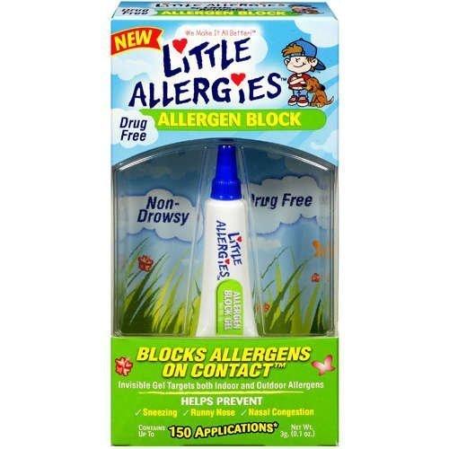 Little Allergies Allergen Block Gel for Kids .1 Oz (Pack of 4)