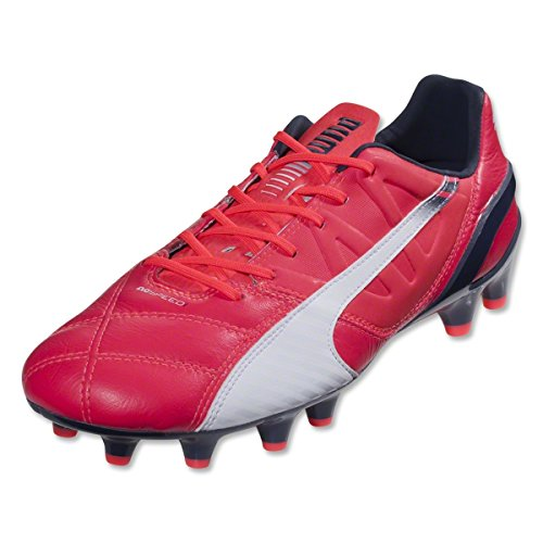 Violet Leather 1 Soccer Yellow Fluro Evospeed 3 Ground Men's Prism Shoe Scuba PUMA Red Firm Ew1AInvAq