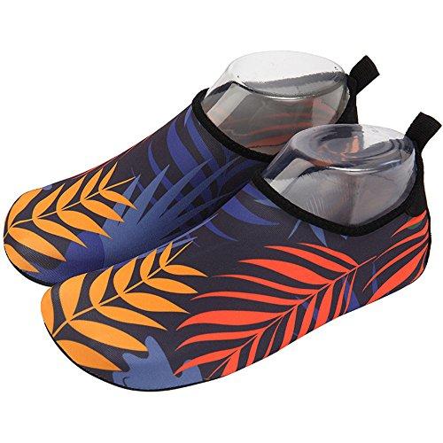 E Unisexe Plage Peau Chaussons séchage Chaussures Rapide Aquatiques Sport Aqua Enfant De Piscine Nclon Yoga Chaussettes Pilate Antidérapant dwTqxdOt