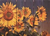 Gizaun Art Sunny Bunch Yard Art, 33 by 24-Inch