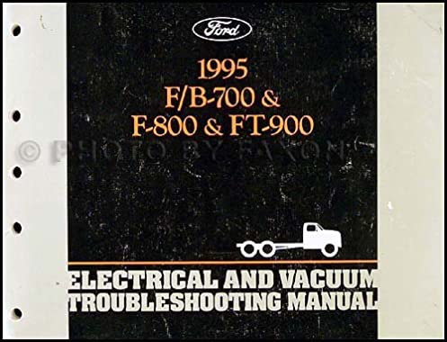 1995 ford f700 f900 b series medium truck electrical rh amazon com ford f 700 service manual ford f700 manual transmission oil