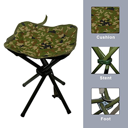 Portable Folding Stool C&ing Outdoor Square Lightweight Stool Chair Heavy Duty Camouflage for Fishing Hiking Picnic  sc 1 st  Lifestyle Updated & Portable Folding Stool Camping Outdoor Square Lightweight Stool ... islam-shia.org