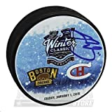 Brendan Gallagher Canadiens Signed Autographed 2016 Winter Classic Dueling Puck