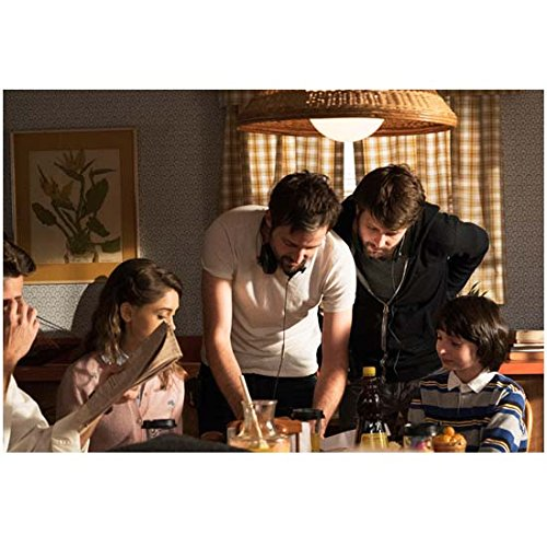 Stranger Things (TV Series 2016 - ) 8 inch x10 inch Photo Matt & Ross Duffer Giving Direction at Table (Giving Directions)