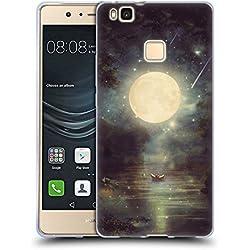 Official Paula Belle Flores Romance On Lake Moon Soft Gel Case for Huawei P9 Lite / G9 Lite