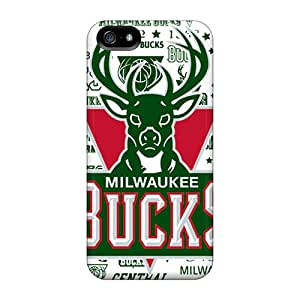Series Skin Case Cover For Iphone 5/5s(milwaukee Bucks)