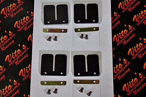 (4 X Vito's Performance Carbon Flex Dual Stage Reeds Yamaha Banshee 1987-2006)