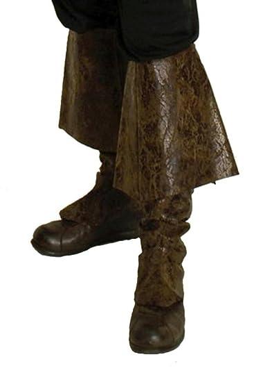 Generique Braune Pirat Stiefelstulpen für Erwachsene