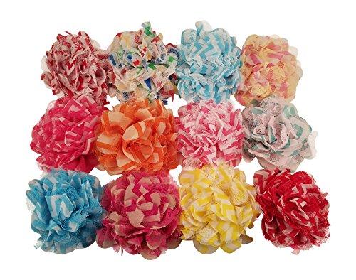 Chiffon Flower Pattern - 7