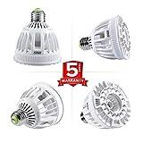 SANSI LED Plant Grow Lights, Red Light 15W Full