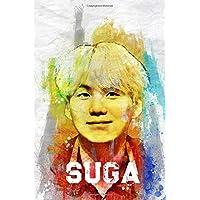 Suga: BTS Member Color Splatter Art 100 Page