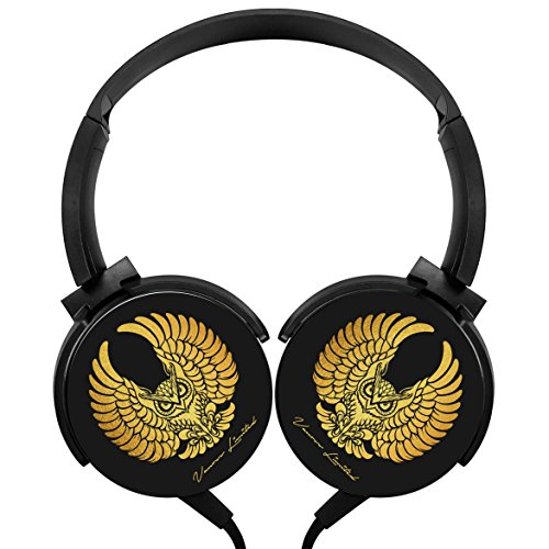 Oss-Van Wired Stereo Deep Bass Wired Headphones Costume for Kids or Adults (Black)