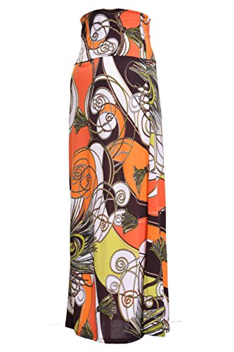 Printed Maxi Skirt (Medium, Phoenix)