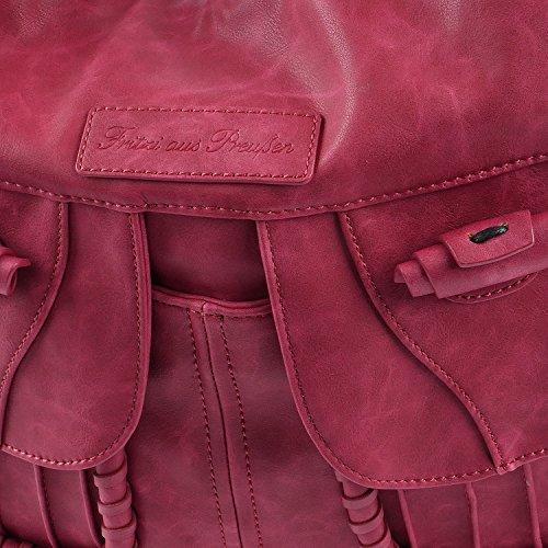 Fritzi aus Preußen Bolso bandolera, color rojo, talla talla única Rojo
