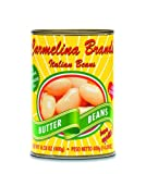 Carmelina Brands Italian Bianchi De Spagna Beans (Butter Beans), 14.28-Ounce Units (Pack of 24)