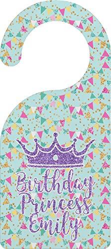 (YouCustomizeIt Birthday Princess Door Hanger (Personalized))