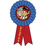 Disney Jake The Neverland Pirates Party Ribbon 1 per Pack by SmileMakers