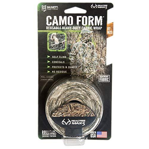 Camo Wrap Mcnett - McNett Tactical Camo Form Reusable Heavy-Duty Fabric Wrap Realtree Max 5