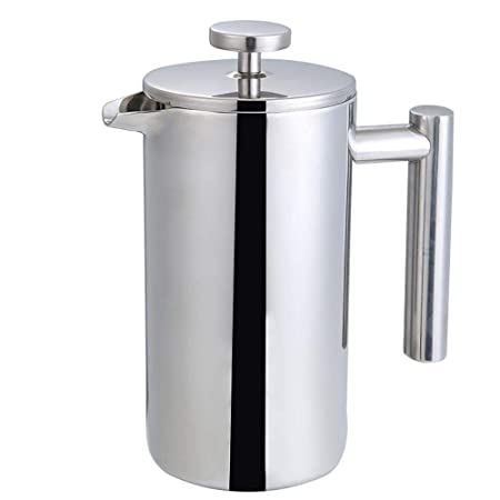 Hokaime French Press Coffee Maker Cafetera de Acero ...