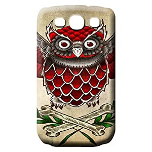samsung galaxy s3 mobile phone carrying covers New cover trendy Owl N Bones