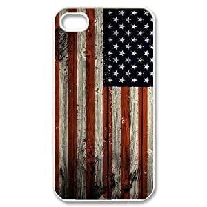 American Flag Classic Personalized Phone Case for Iphone 4,4S,custom cover case ygtg-775254
