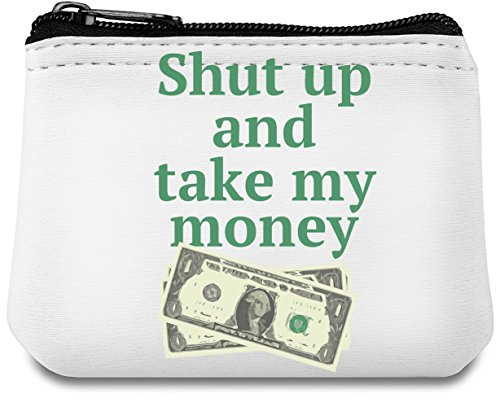 Carry Out up and Crowd amp;Stand Accessories From Pouch The Purse By Unique take Grab Goods Money Hamerson amp; Your The money Neoprene Custom Stylish To Shut my Handbag Coin 1q7wqC