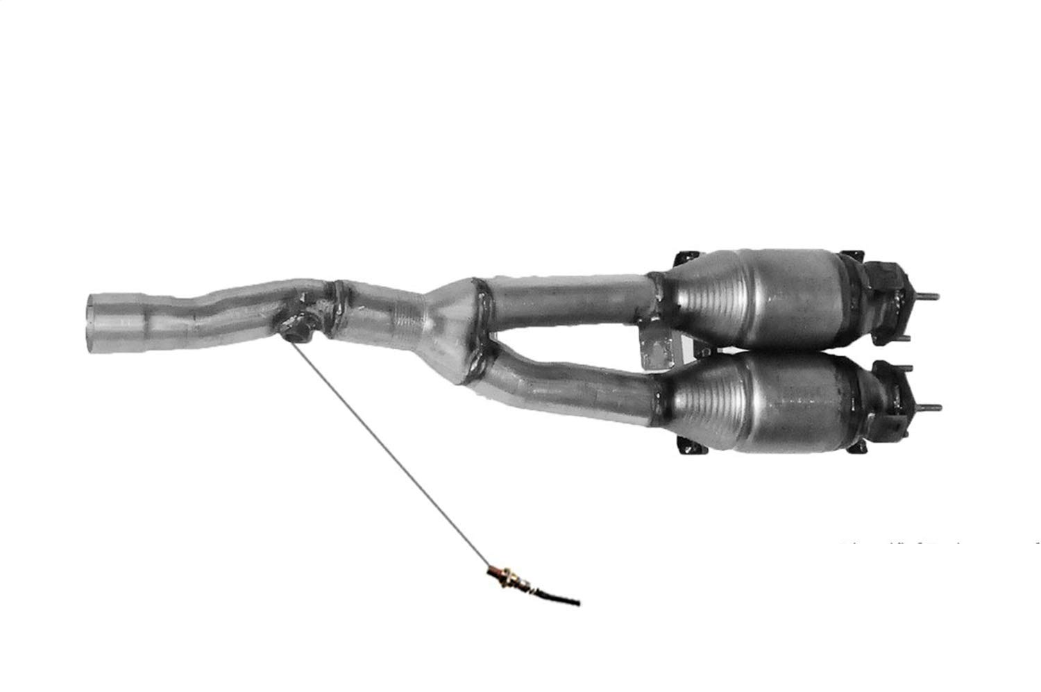 Non C.A.R.B. Compliant Pacesetter 324684 Raw Steel Direct Fit Catalytic Converter for 2000 Audi TT Quattro 1.8