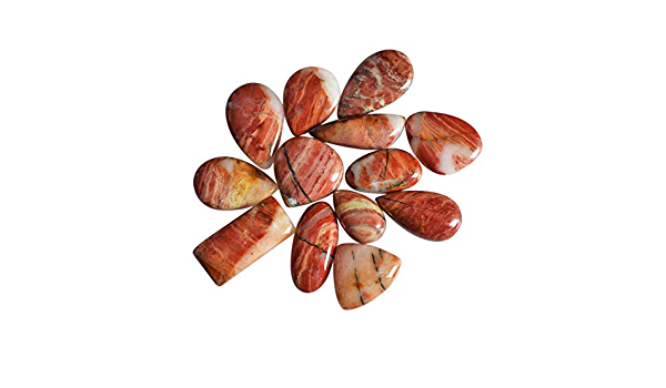 100/% Natural Snakeskin Jasper Cabochon Tumbled Stone AG-10753 Best Price Size 42x31x4.5 MM Jewellery Making Pendant Stone Healing Stone