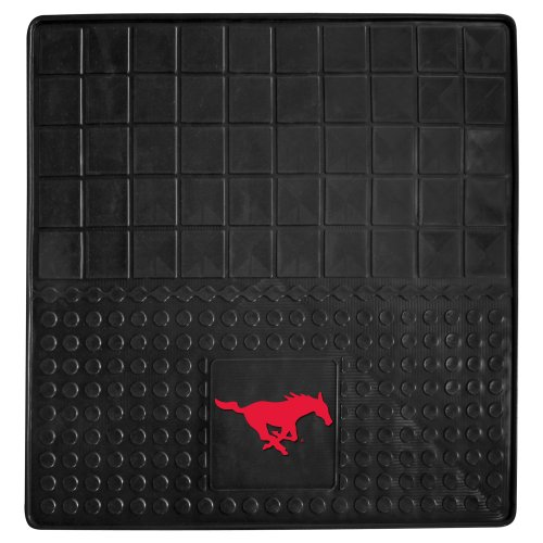 Fanmats 13013 Southern Methodist University Mustangs Vinyl Heavy Duty Cargo Mat (Southern University Basketball Rug)