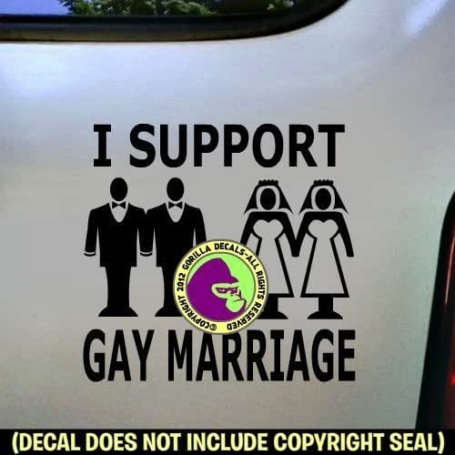 from Alonso i support gay marriage sticker