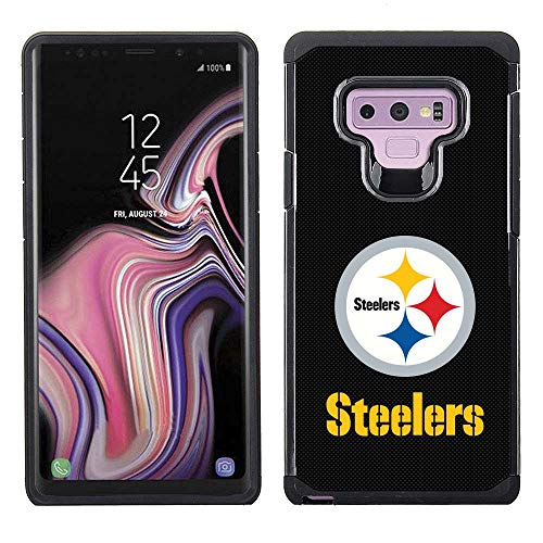 (Prime Brands Group NFL-TX1-NOTE9-STLR Cell Phone Case for Samsung Galaxy Note 9, NFL Pittsburgh Steelers)
