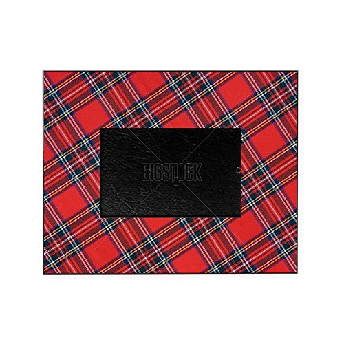 CafePress - Royal Stewart Tartan - Decorative 8x10 Picture Frame (Checked Kilt)