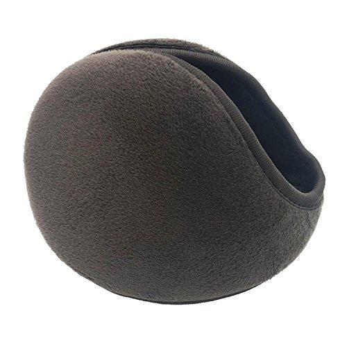 (Ear Warmers / Earmuffs- Soft Plush Fleece Outdoor Winter Ear Muffs for Men & Women (Coffee))