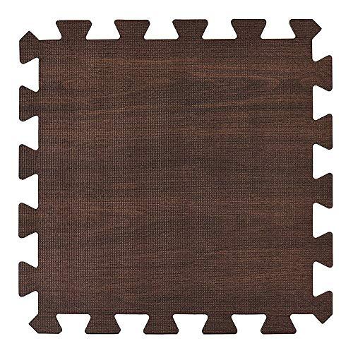 - Wffo Children Soft Patchwork Carpet, Splice Baby Mat for Living Room Bedroom 30x30CM (Coffee)