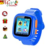"Kids Game Watch Smart Watch for Kids Children's Birthday Gift with 1.5 "" Touch Screen and 10 Games, Children's Watch Pedometer Clock Smart Watch Kids Toys Boys Girls Gift. (deep Bule)"