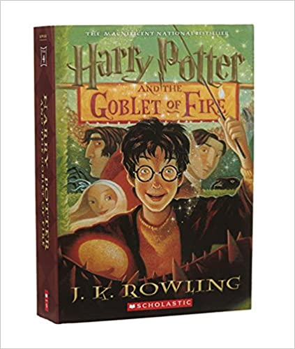Harry Potter And The Goblet Of Fire by J.K. Rowling Free PDF Read eBook Online
