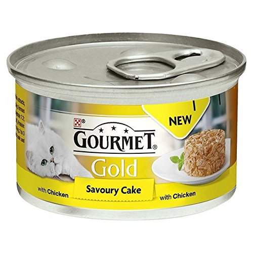 (Gourmet Gold Savoury Cake Adult Cat with Chicken 85g (PACK OF 2))