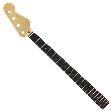 FLEOR guitarra eléctrica Cuello Para Jazz Bass Eléctrica para Sustitución de piezas, INP-001