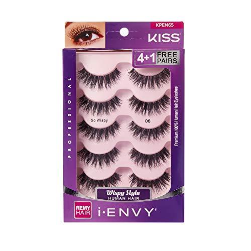 i Envy by Kiss So Wispy 06 Strip Eyelashes Value Pack #KPEM65