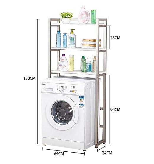 Estante de la lavadora Vertical estante lavadora, lavado de acero ...