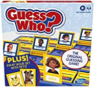 Guess Who? Board Game with People and Pets, The Original Guessing Game for Kids Ages 6 and Up, Includes People