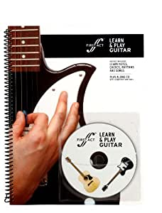 learn play guitar book with audio by first act m2lpg1 musical instruments. Black Bedroom Furniture Sets. Home Design Ideas