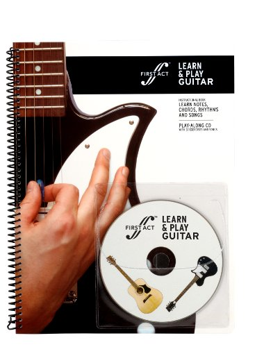 (Learn & Play Guitar Book with Audio by First Act  - M2LPG1)