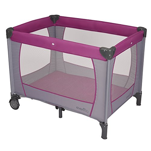 Evenflo BabySuite Classic Playard Purple Orchid
