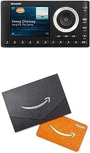 SiriusXM SXPL1V1 Onyx Plus Satellite Radio with Vehicle Kit + Amazon.com $10 Gift Card